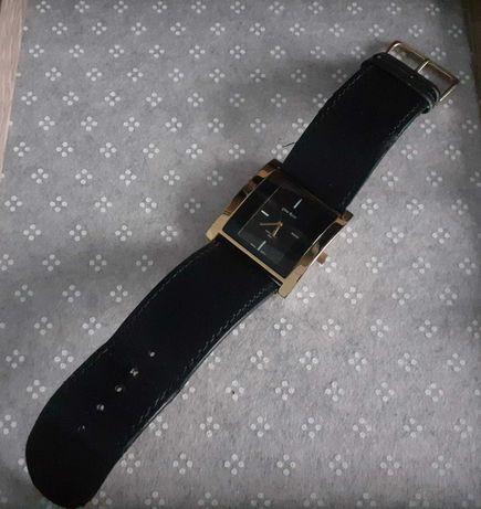 Oryginalny Damski Zegarek GINO ROSSI Czarno Złoty
