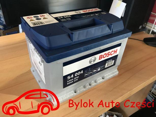 """AKUMULATOR 60AH/540A """"Bosch"""" NOWY!!! NISKI 'Bylok Auto Części Gliwice"""