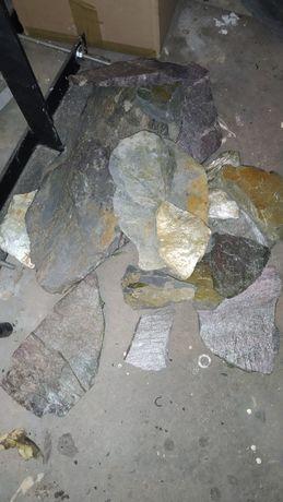 Kamienie - łupek - do akwarium Malawi