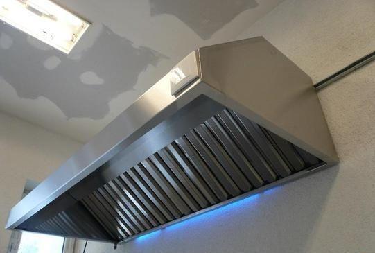 NOWY okap gastronomiczny 190 cm wentylator promieniowy 800 m3/h filtry