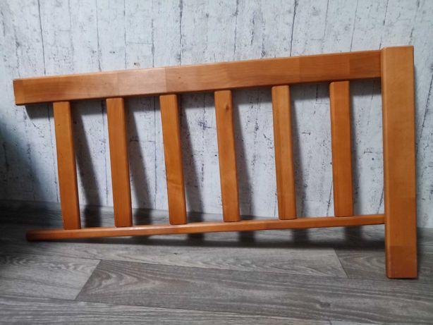 Защитный бортик деревянный для кровати