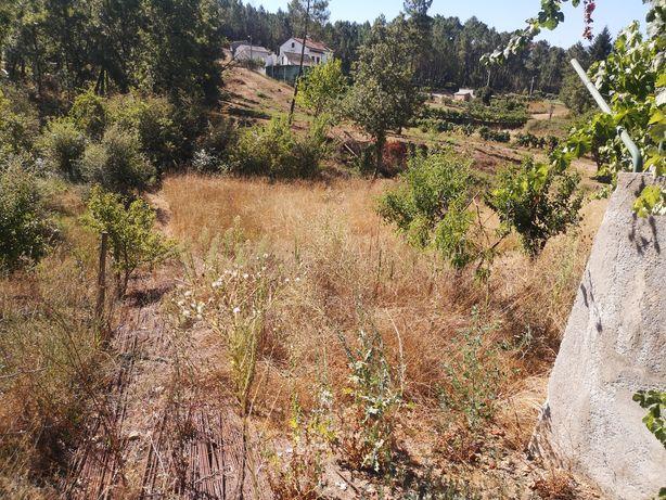 Terreno com projecto aprovado e obra iniciada em Oleiros.
