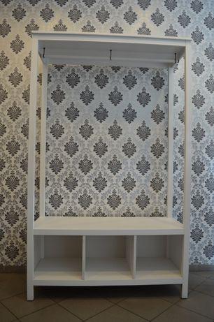 Ikea hemnes szafa otwarta 120x197x50cm biała