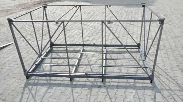Skrzyniopalety metalowe duży rozmiar