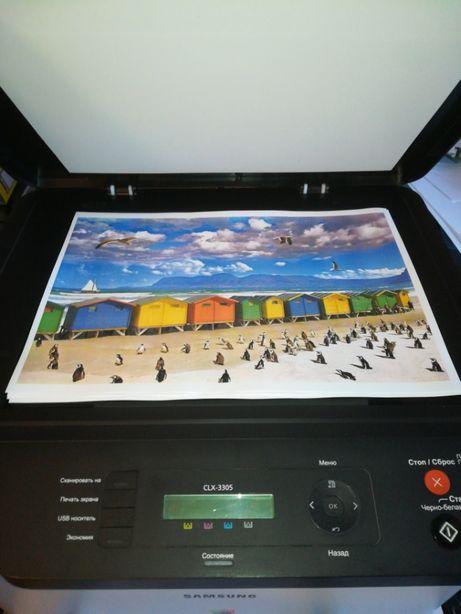 Ідеальний друк Кольоровий лазерний МФУ принтер цветной БФП/копір/xerox