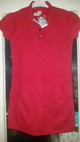 Nowa czerwona sukienka/tunika