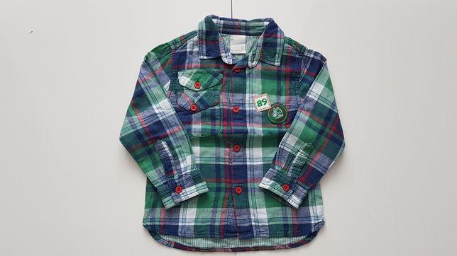 Koszula chłopięca firmy Coccodrillo roz. 92 Stan: IDEALNY!!!