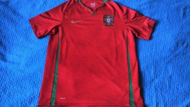 Camisola verdadeira Seleção de Portugal, portes incluídos (como nova)