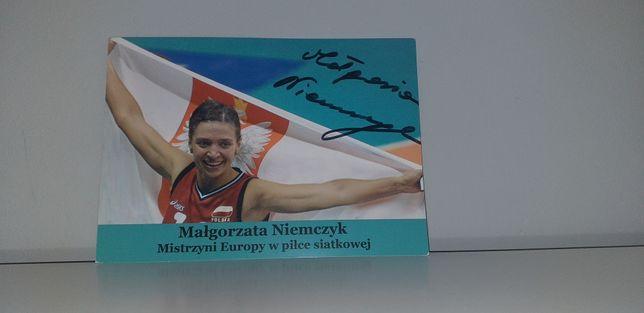 Autograf - Małgorzata Niemczyk