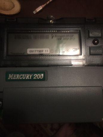 Счётчик электроэнергии однофазный Меркурий 200 Mercury Инкотекс