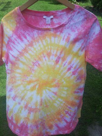Nowa koszulka tie dye
