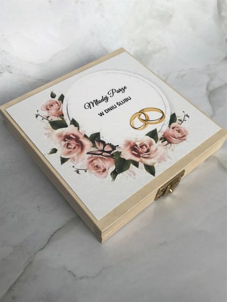 Prezent na Ślub - Pudełko na pieniądze