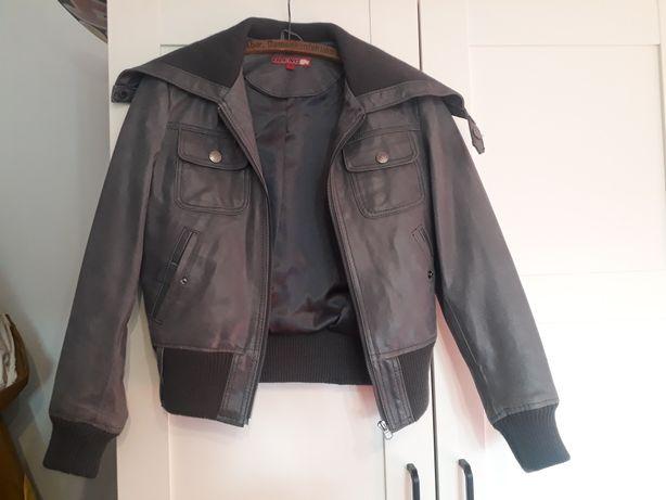 Skórzana kurtka rozmiar 36