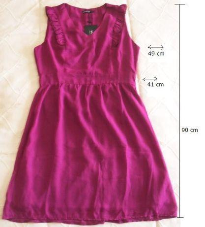 Vestido rosa novo 38/40