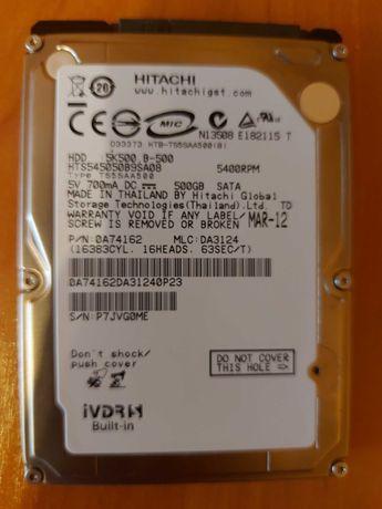 Dysk HDD 500 GB Hitachi