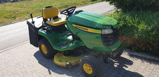 John deere traktorek kosiarka kosz