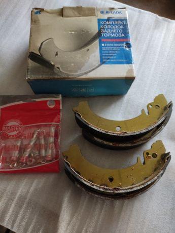 Колодки задние ВАЗ 2101-07. 2121.