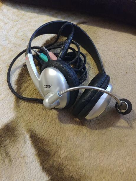 Słuchawki komputerowe z mikrofonem e5