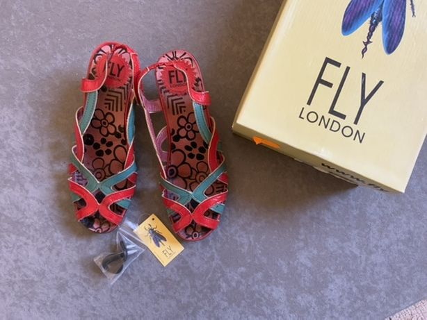 Buty skorzane Fly London