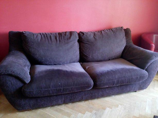 Sofa z systemem spania