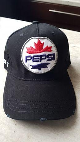 Czapka DSQUARED Pepsi DSQ bejsbolówka czarna D2 wysyłka PL