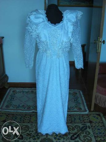 Vendo Vestido de Noiva Novo Vera