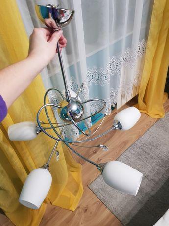 Lampa pokojowa 5 kloszy