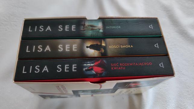 """Lisa See trylogia """"Czerwona księżniczka"""". Kości smoka. Interior. Sieć"""