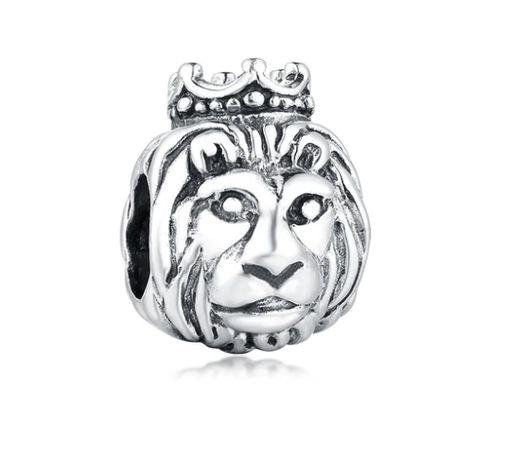Charms PANDORA srebro 925 król lew korona kot okazja tanio
