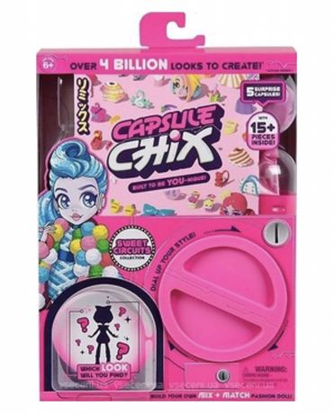 Кукла Капсула Чикс Дикий рок сюрприз Capsule Chix Ram Rock Collection