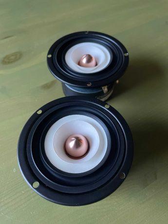 głośniki szerokopasmowe 125Hz-20kHz, 90mm (DIY audio)