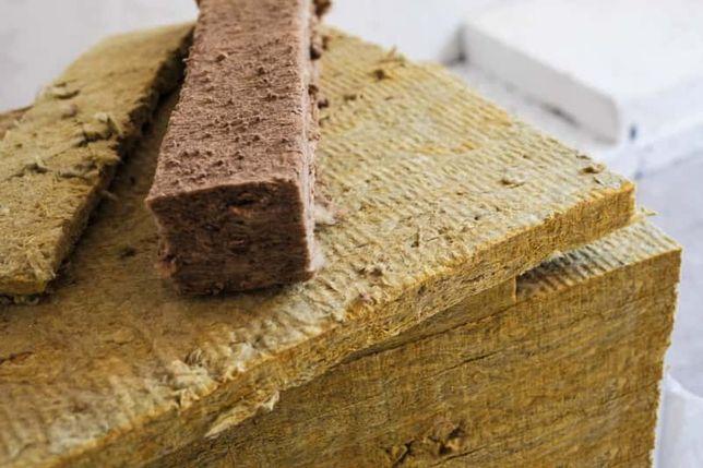 Wełna mineralna prasowana 5cm