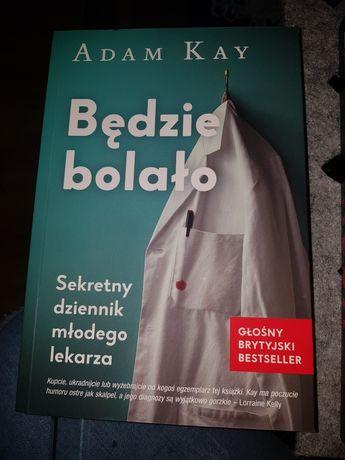 Książka Będzie bolało