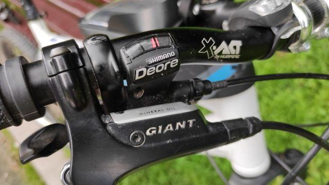 "Велосипед Giant 26"" перекидки deore, вилка rock shok рама L"