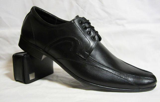 41 размер Туфли классика кожа шнурок