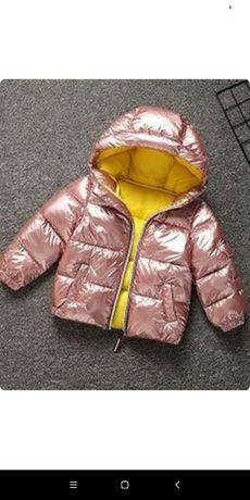 Курточка демисезонная/ еврозима. Шапка в подарок