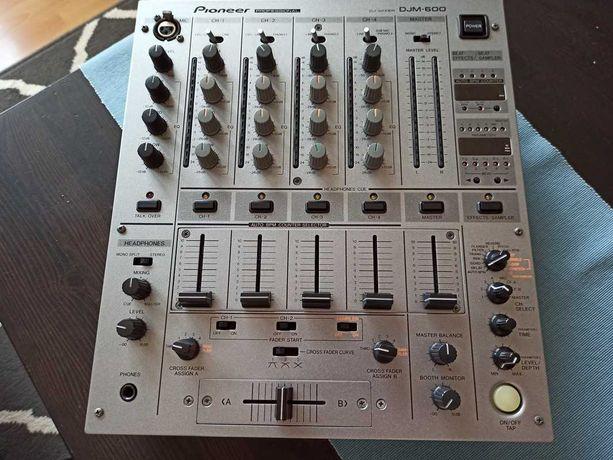 Pioneer DJM 600 Silver Mikser DJ Mixer