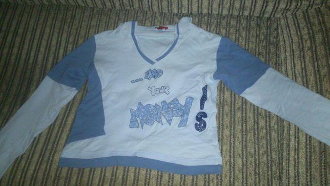 Fajna bluzka z kapturem mlodziezowa