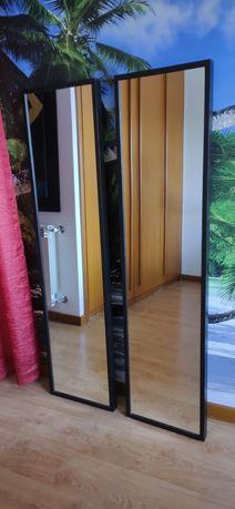 Dois espelhos IKEA, novos, tamanho 1,60 por 40 metros