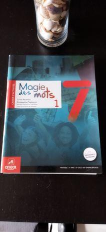 "Caderno de Actividades ""Magie des Mots 1"" 7°Ano"