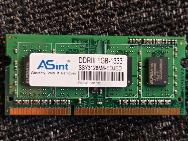 Memória RAM 1GB DDR3-1333