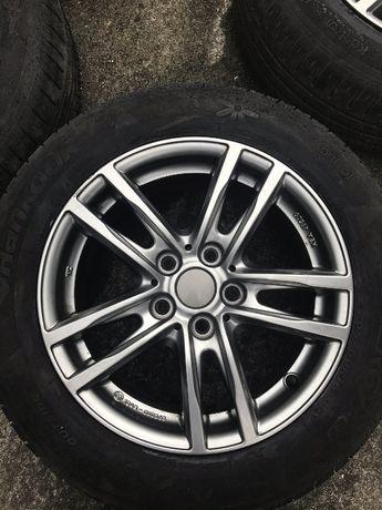 Felgi+Opony UNIWHEELS 5X112 7jx16H2 ET47(Audi VW Seat Škoda Mercedes)