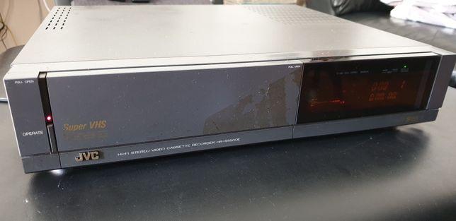 JVC.vhs video gravador