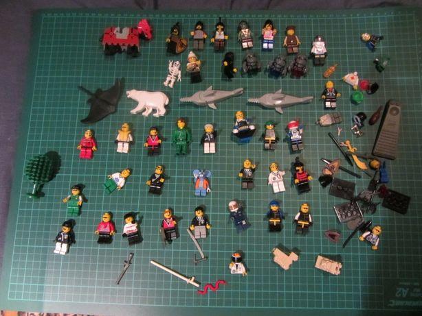 Figurki Lego dużo ciekawych