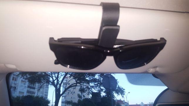 Suporte de óculos / máscara para pala tapa sol - Promoção nos portes!