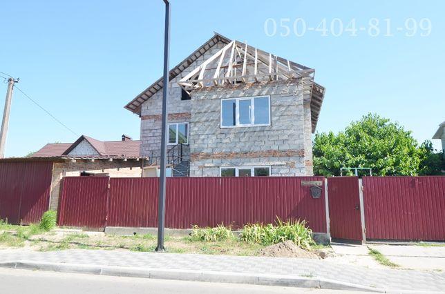 Продам дом 75% готовности с хоз. постройками г. Бровары р-н Торгмаш