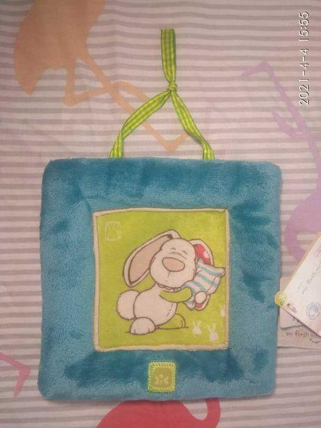 Картинка мягкая, игрушка для новорожденного, развивашка, возраст 0+