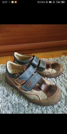 Skórzane buty |Antylopa| r31