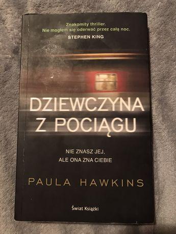 """Książka """"Dziewczyna z pociągu"""" Paula Hawkins"""
