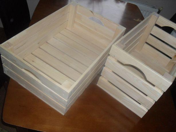 Skrzynki drewniane S1 S2